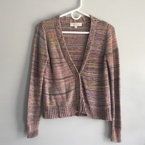 Multi-color cardigan!